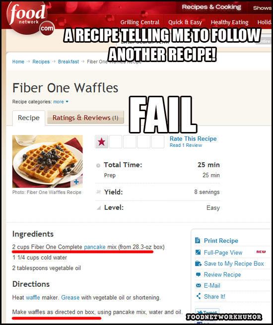 Fiber One Waffles