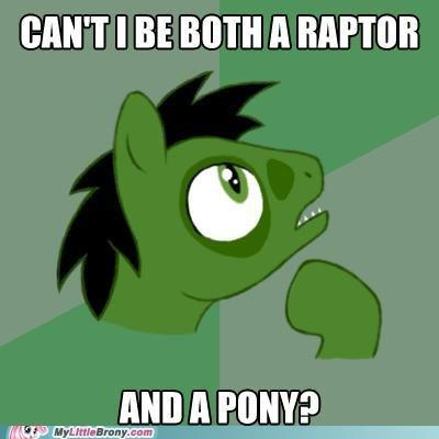 Philosoraptor ponified