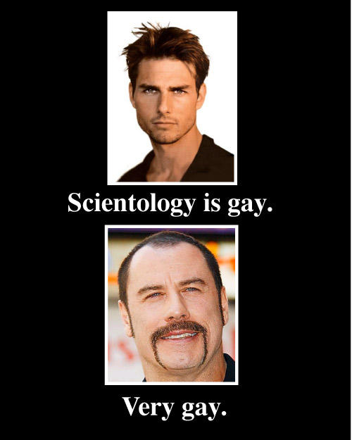 scientology is gay