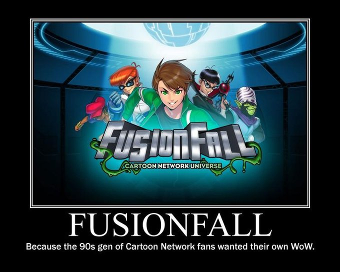 Fusionfall caption 1