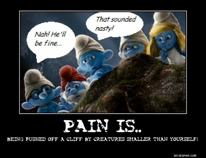Pain is..