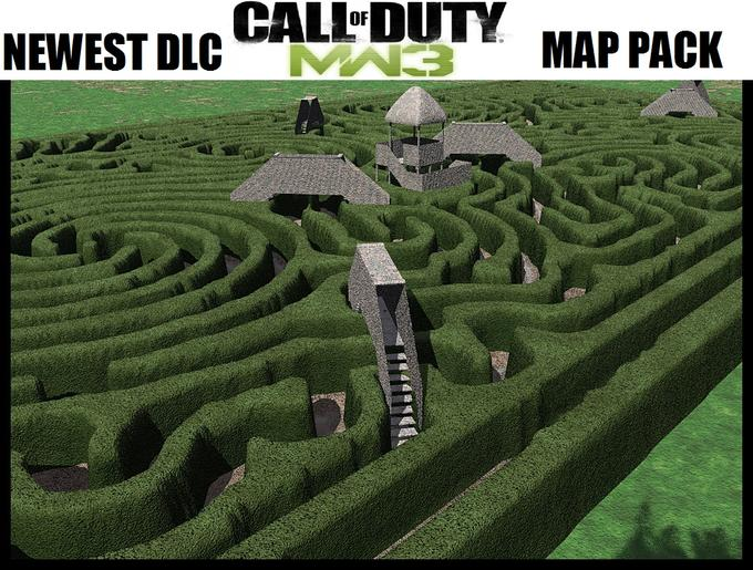 The latest mw3 map