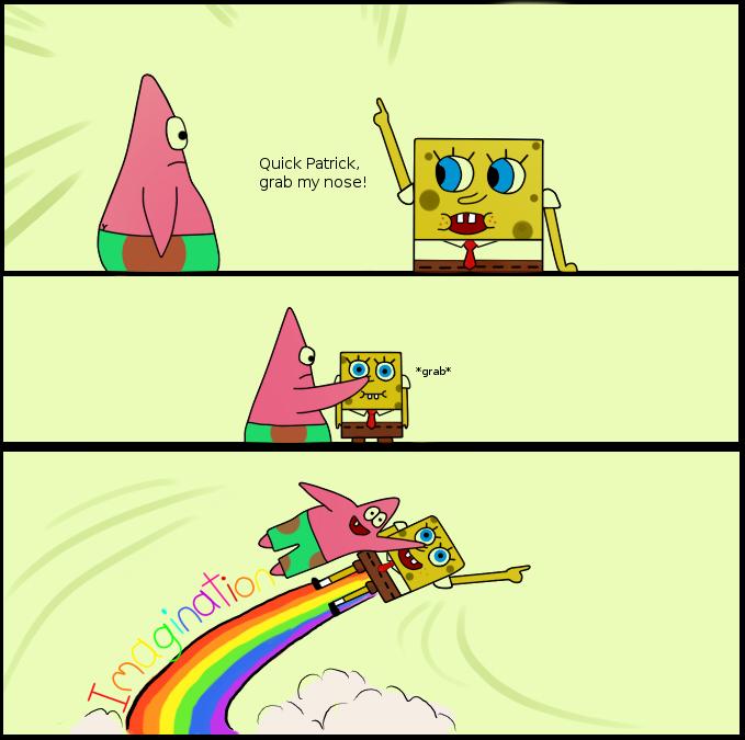 Spongebob Imagination Meme Funny : Image imagination spongebob know your meme