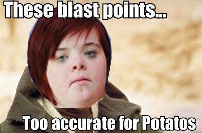 Those Blast Points....