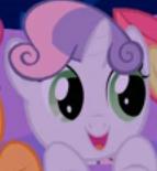 Happy little marshmallow