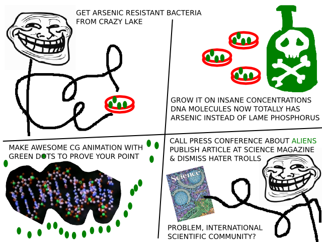 arsenic life / IRL troll science