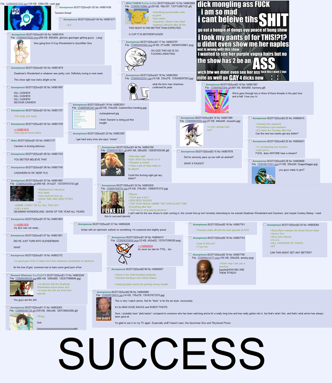 4Chan & Toonami SUCCESS
