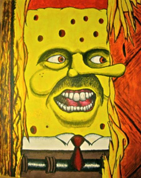 Here's Spongebob!