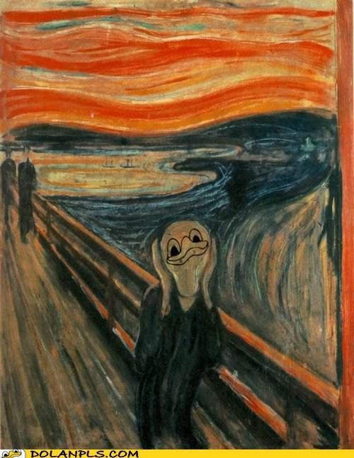 The Scream Dolan parody
