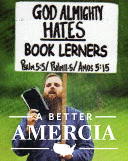 Book Lerners Hate Amercia