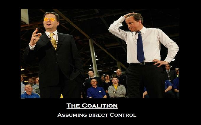 Assuming Direct Clegg Control