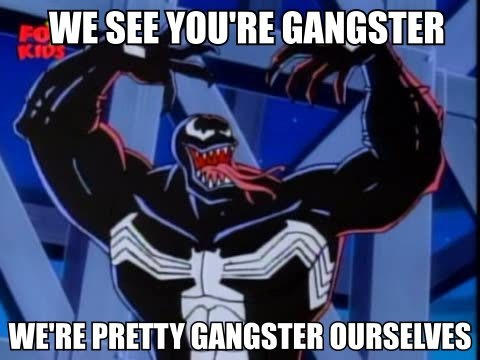 We see you're gangster