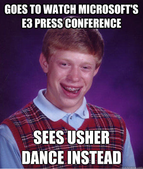 Bad Luck Brian Goes to E3 2012