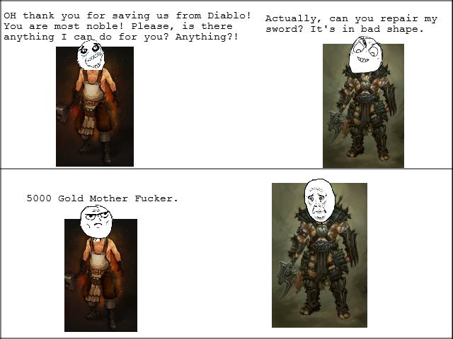 Diablo 3 Logic