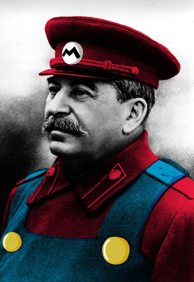 It's a me! Stalin!