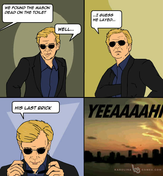 Horatio does it again