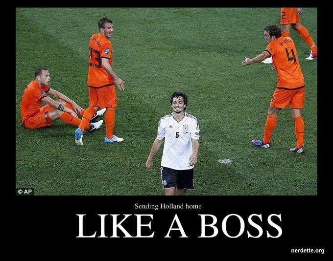 Germany vs. Holland
