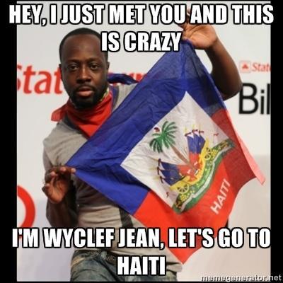 Let's go to Haiti