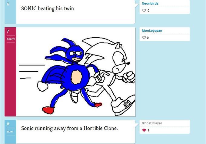 Sanic and Sonic