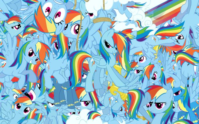 So much Rainbow Dash