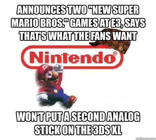Scumbag Nintendo - 3DS XL