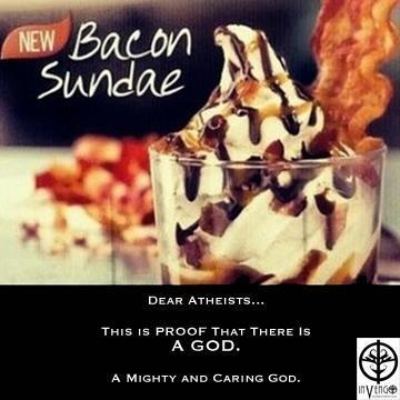 Bacon Sundae