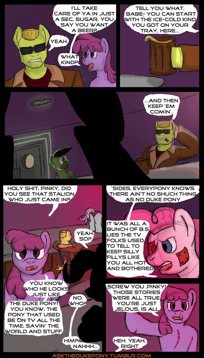 Duke Pony in, Another Hole in the Wall page 3