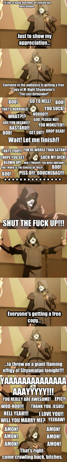 Amon Almost Starts A Riot