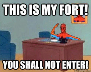 spider-fort