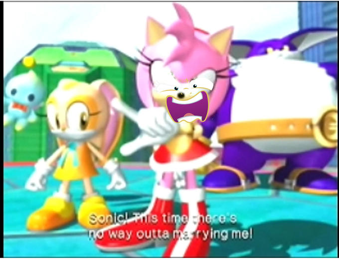 Amy Rose Is Going To Love You