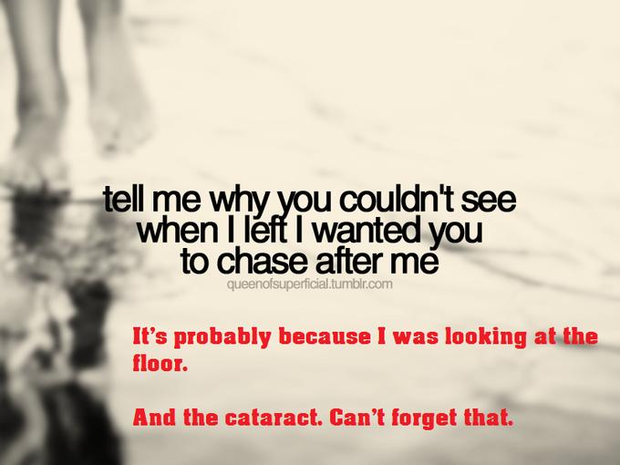 damn cataract