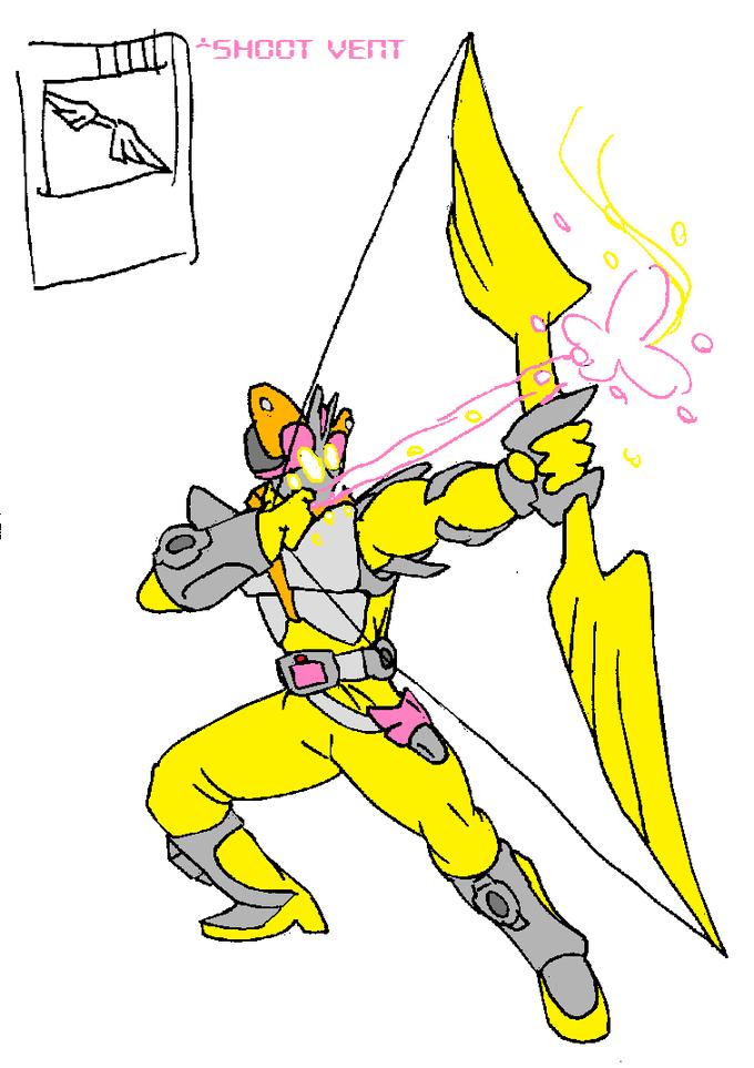 Kamen Rider Shy - Shoot Vent