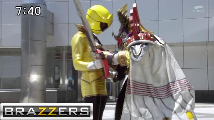 Gokai Yellow grope