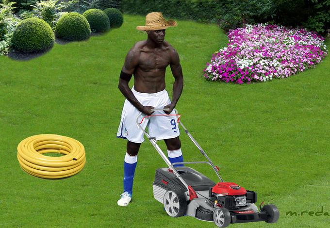Mario's new job