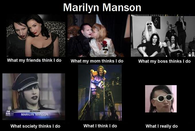 What Marilyn Manson Does