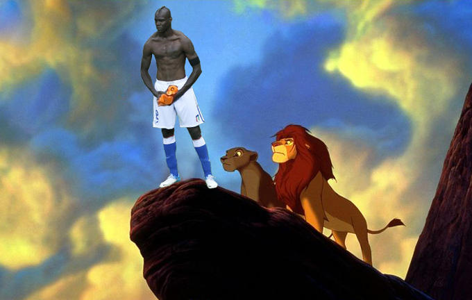 Lion King Balotelli