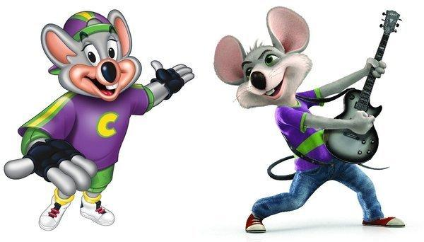 Chuck E. Cheese 90's VS 2012