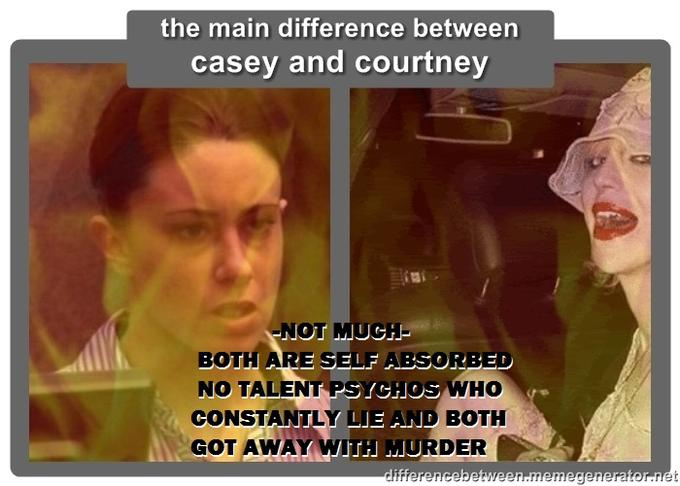 CASEY ANTHONY AND COURTNEY LOVE HAVE A LOT IN COMMON