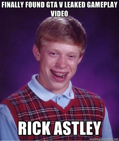 Bad Luck Brian - Impatient Gamer