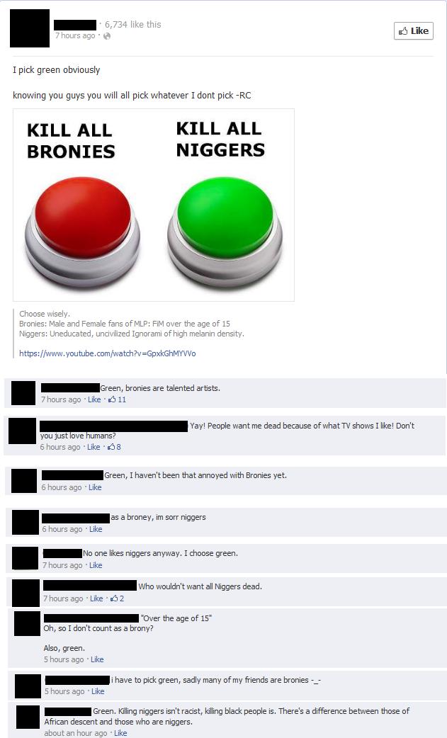 Great job, Facebook.