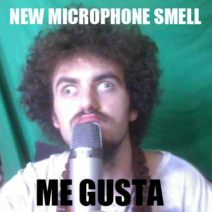 New Microphone Smell