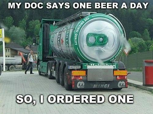 Giant Can of Beer