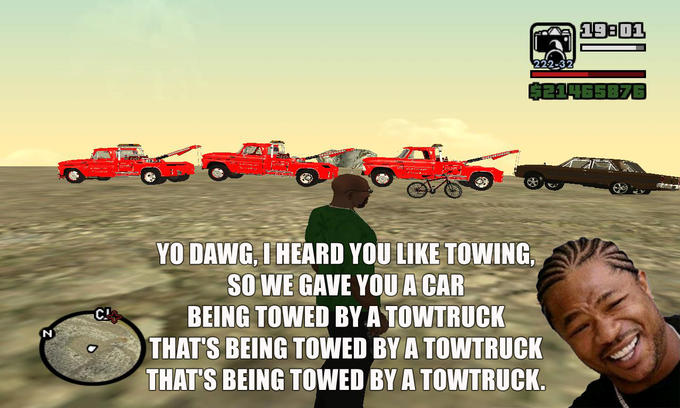San Andreas Towtrucks