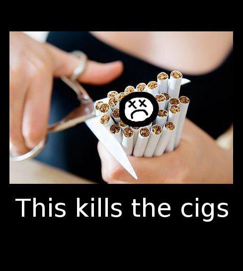 Sad cigs
