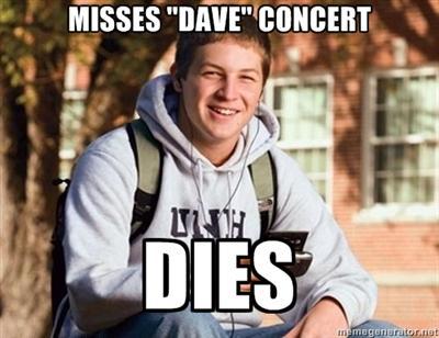 """Dave"" concert"