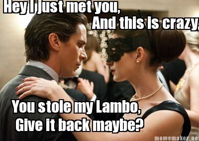 The Dark Knight Rises Catwoman Call Me Maybe