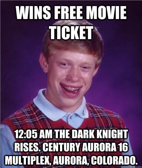 Aurora Colorado The Dark Knight Rises premiere