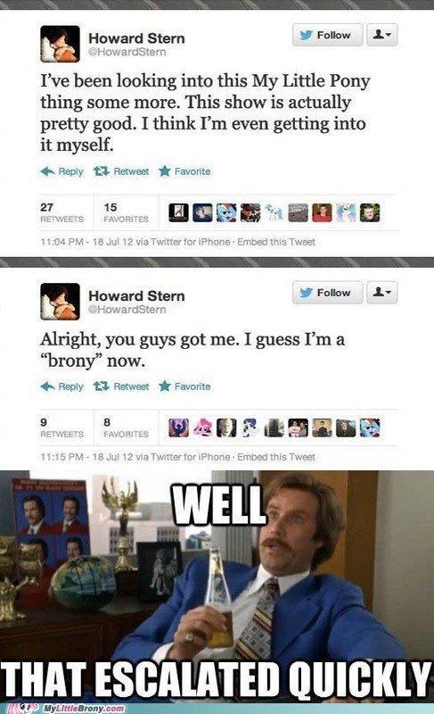 Howard Stern: Brony
