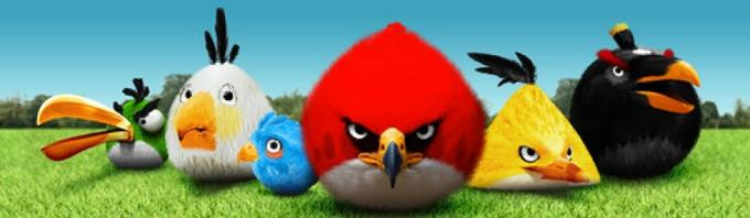Realistic Angry Birds