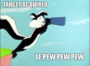 Le Pew Pew